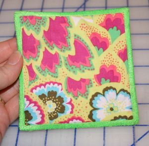 In-the-Hoop Project: Square Coasters – Free Design from