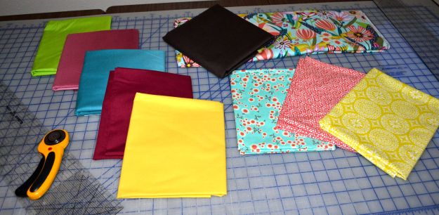 First, I had to decide on which fabrics to use.